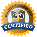 Hootsuite certified logo