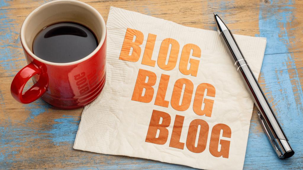 Blogging header image
